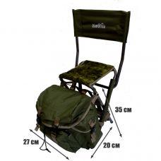 Рюкзак Comfortika с меховым стулом со спинкой