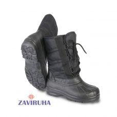 ZAVIRUHA Комбинированные сапоги ЭВА мужские модель 'Орион' черный