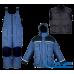 Зимний костюм Чайка ЭВЕРЕСТ комбинация синего с черным