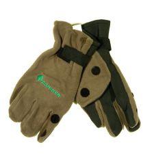 Перчатки Tagrider неопреновые с флисом 3 откидных пальца XL