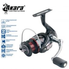 Катушка Akara Fish Point FPF3000 4+1 з/ш