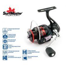 Катушка безынерционная Surf Master Black Bass FB 3500A, 5+1 шп.