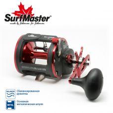 Катушка мультипликаторная Surf Master Sea Legend 40R со счетчиком