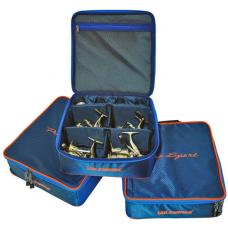 Сумка под 4 катушки Pro Sport размер L (4 большие катушки с доп. шпулями)