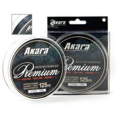 Шнур Akara Premium Grey 0,12- 0,26/125 м