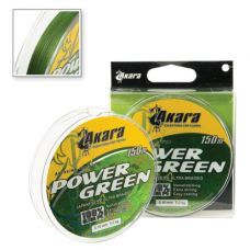 Шнур Akara Power Green 0,10 - 0,40/150 м