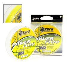 Плетенка Akara Power Fluo  0,14 - 0,25 мм/135 м