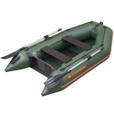Моторно-гребная лодка Колибри КМ-300 (реечный настил), 4-х местная