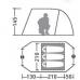 Палатка Велес 3 V.2 (трехместная)