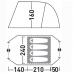 Палатка Велес 4 V.2  (четырехместная)