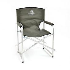 Кресло складное Кедр AKS-03 алюминий, закрытая спинка