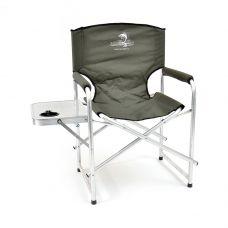 Кресло складное Кедр AKS-07 алюминий столик-подстаканник