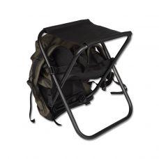 Табурет складной средний (рамка в рамку) с рюкзаком (Кедр)