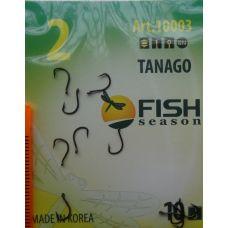 Крючки Fish Season TANAGO-RING №2 с ушком, 10 шт.