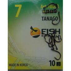 Крючки Fish Season TANAGO-RING №7 с ушком, 10 шт.