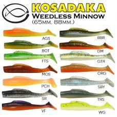 Kosadaka WEEDLESS MINNOW 75 (6 шт)