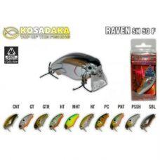 Воблер Kosadaka Raven SH 50F 8,7 гр (0.0 - 0.3 м)