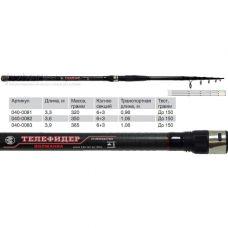 Волжанка Телефидер 3.3 м, тест до 150 гр