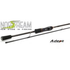 Удилище спиннинговое Norstream Adept 732L 2.21 м, тест 2 - 10 гр