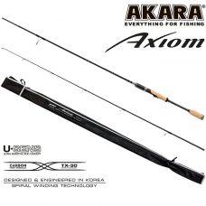 Спиннинг штекерный угольный 2 колена Akara Axiom M (6-28) 2,10 м