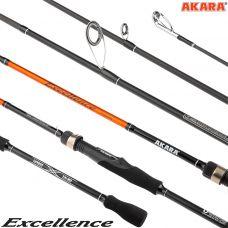 Спиннинг штекерный угольный Akara Excellence 2,7 м, 6-28