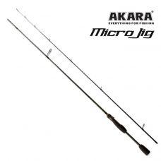 Спиннинг штекерный угольный Akara SL1004 Micro Jig Ultra 702UL-S TX-30 (0,5-6) 2,1 м