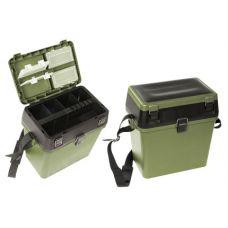 Ящик зимний COM 317, 2 секции, светло-зеленый