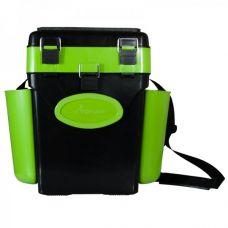 Ящик зимний FishBox (Helios) двухсекционный 10 л зеленый