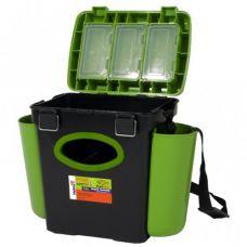 Ящик зимний FishBox односекционный 10 л зеленый