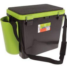 Ящик зимний FishBox односекционный 19 л зеленый