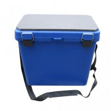 Ящик зимний односекционный HELIOS  (Тонар), синий