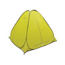 Палатка зимняя Comfortika W-A200-YBZ автомат. 2х2 м дно на молнии желтая
