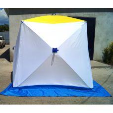 Палатка Стэк КУБ 2 (треххслойная) (180 х 180 х 180 см)