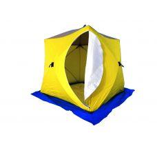 Палатка Стэк КУБ-3 дышащая (3 слойная)