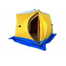 Палатка Стэк КУБ 3 (трехслойная) дышащая (220 х 220 х 205 см)
